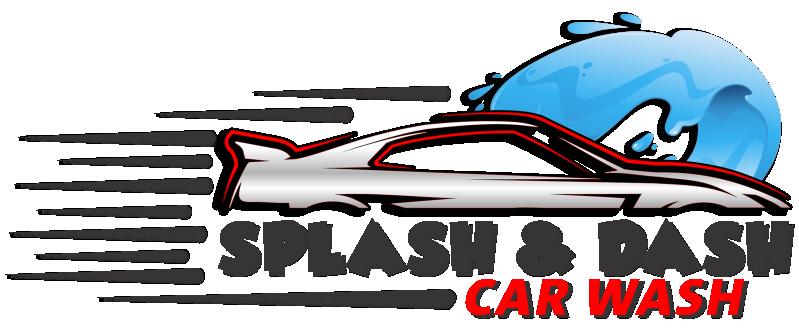 Splash and Dash Car Wash Logo